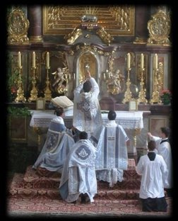 Sainte Messe, Messe St Pie V, Messe Tridentine