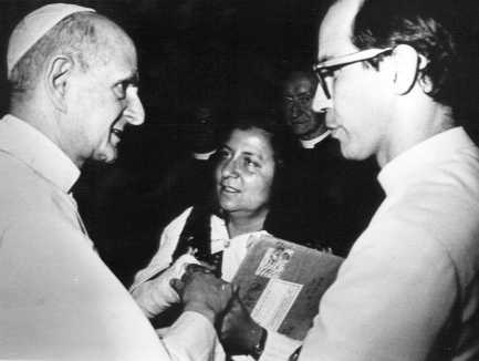 - Paul VI et la diffusion du Message de Garabandal dans D- Des prêtres racontent paul-vi-et-maria-saraco-garabandal