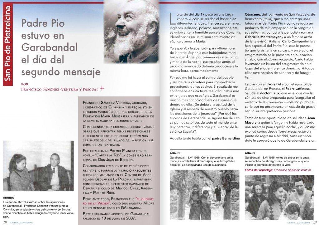 Padre Pio à Garabandal 1